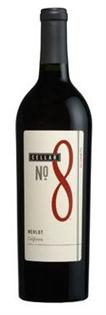 Cellar No. 8 Merlot 750ml - Case of 12